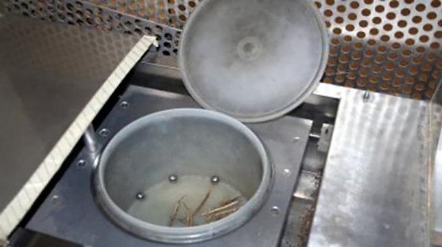 labdás centrifuga