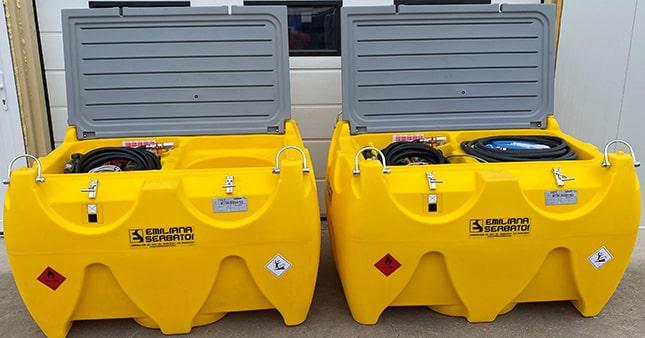 CARRYTANK üzemanyag-tartályok zárható fedéllel
