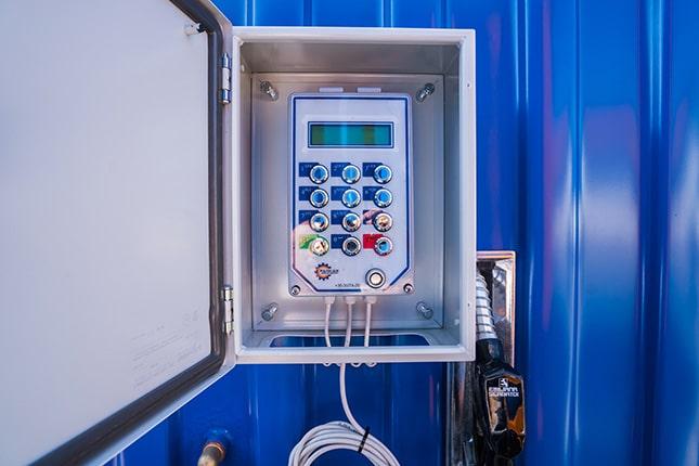 FTS rendszer tankolóautomatához