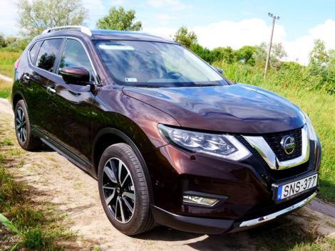 Kiváló komfort, lenyűgöző műszaki tartalom: teszteltük a Nissan X-Trail Tekna SUV-t