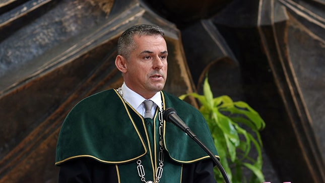 Dr. Gyuricza Csaba, rektor