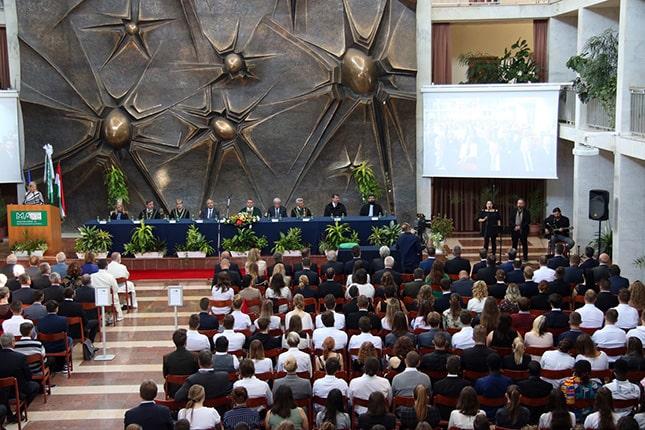 Tanévindító ünnepélyes szenátusi ülés