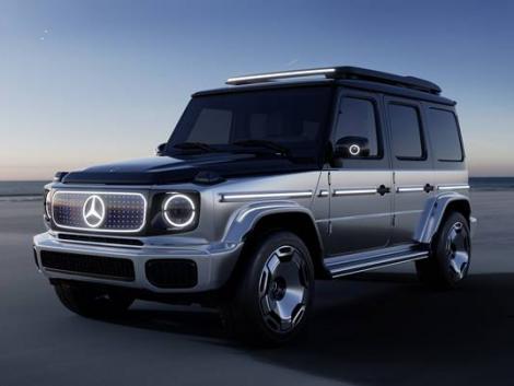 Álomterepjáró továbbfejlesztve! A Mercedes-Benz G osztály elektromos jövője