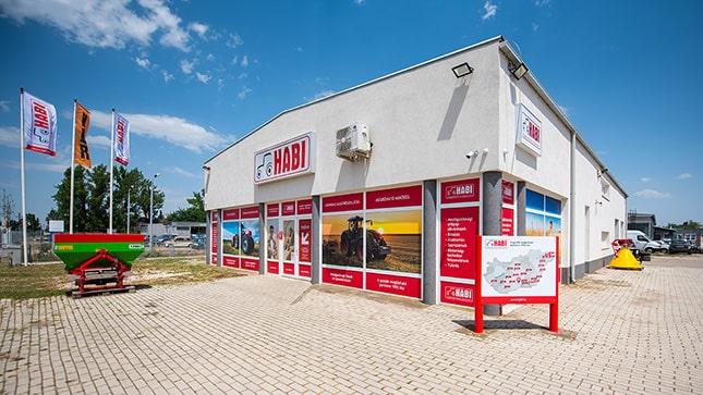 A Hódmezőváráshelyi bolt az új arculattal