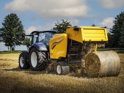 Ismerd meg a legújabb New Holland traktort és bálázót!