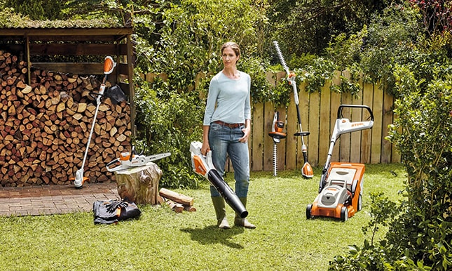 akkumulátoros kerti gépek