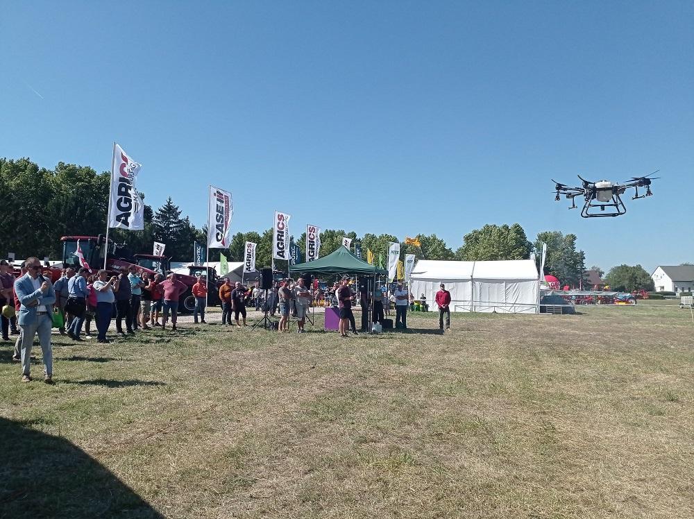 Drónos légi bemutató