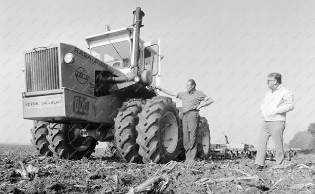 Rába Steiger traktor