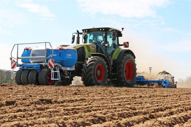 Az új vetőgép kombináció az Isobus felszereltségével tökéletesen illeszkedik a digitális mezőgazdaságba