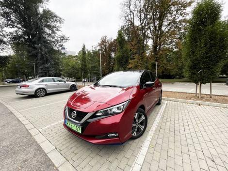 A népszerű elektromos autó legújabb generációja – teszteltük a Nissan Leaf e+ Teknát