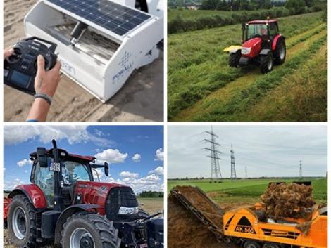 Aprítógép, mindenes traktor, önjáró robot és minden más, ami mozog