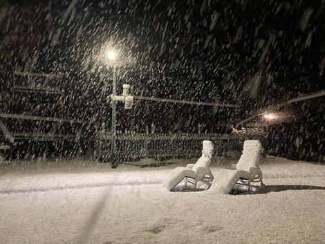 Kopogtat a tél: a Bükkben 20-22 cm hó hullott tegnap este