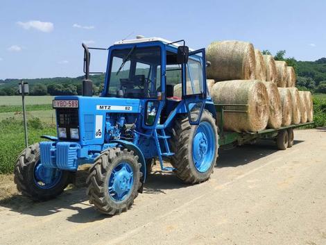 Amikor új fényében pompázik egy MTZ 82-es traktor