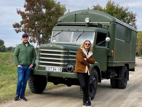 Időutazás egy műhelyfelszereltségű Csepel D-344 teherautóval