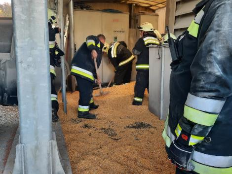 Égő terményszárítóhoz vonultak a tűzoltók