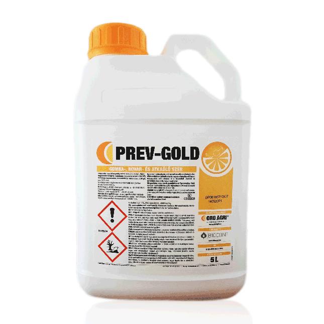 Prev-Gold növényvédő szer természetes narancsolajjal