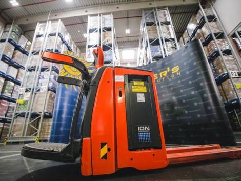 A Waberer's több mint 2 és fél millió euróért vásárolt Linde targoncákat