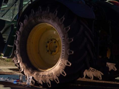 Traktoros közúti balesetek egymás után...