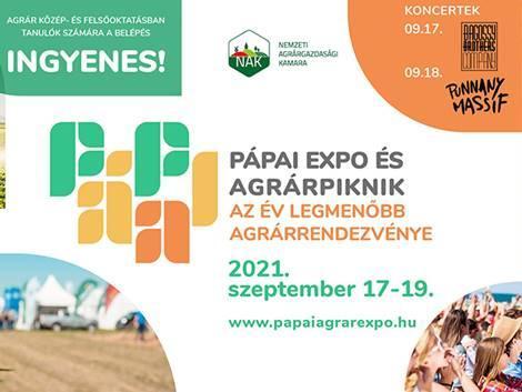 Szeptemberben vár a 24. Pápai Expo és Agrárpiknik
