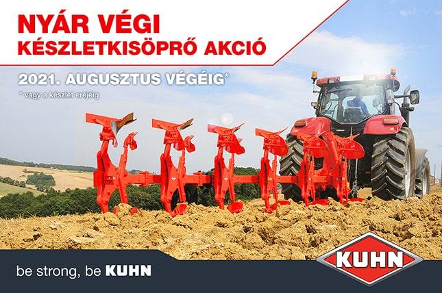 Kuhn mezőgazdasági gépek akció
