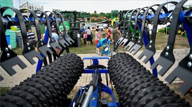 Farmer Expo Debrecen mezőgazdasági gép kiállítás