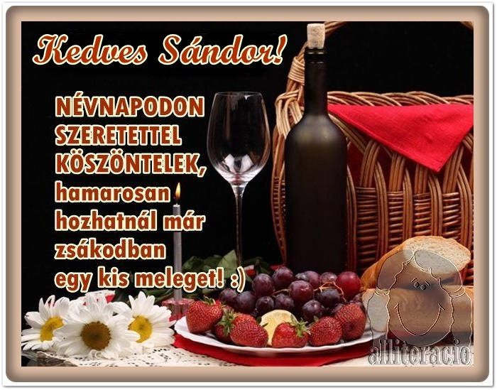 sándor napi köszöntő Fórum   Mezőgazdasági közösség   Agroinform.hu   1. oldal sándor napi köszöntő